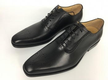 Handmade Wedding Mens Leather Dress Shoes Oxfords Style