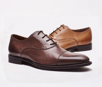 High quality hand made genuine leather shoes lace up men dress shoes black dress shoes men italian